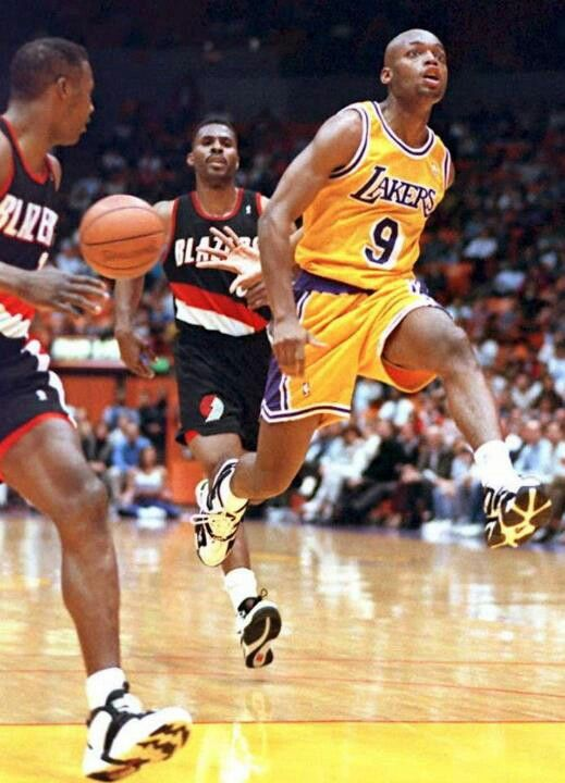 Never one of the best but Nick the Quick was exciting to watch. Nick Van Exel