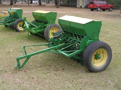 ATV Seed Drill | ... | Food Plot Grain Drills | Food Plot Planters | Garden Equipment