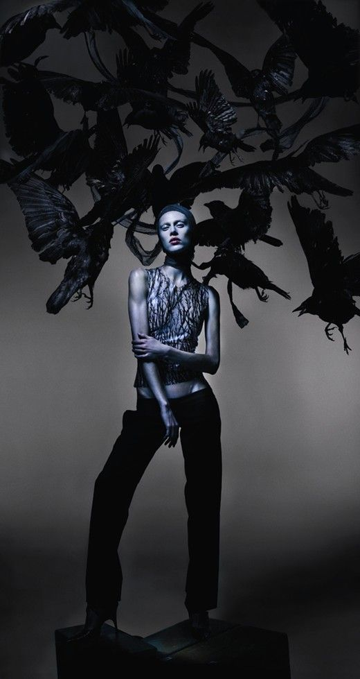 A celebration of Alexander McQueen. Photography by Nick Knight, Styling by Katy England