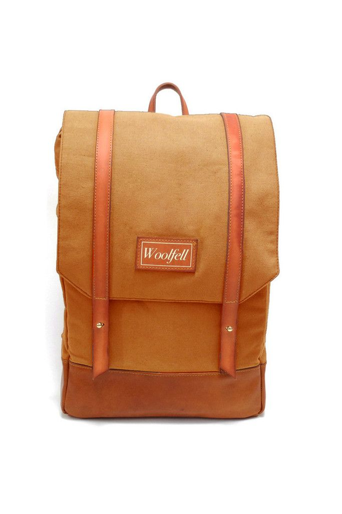 Woolfell Bags | Backpacks | Warrior in Dunes – Handmade Montreal | Unique Products, Local Makers | EVERETT GRAY