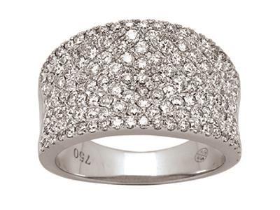 Bague jonc Or gris, pavage diamants 1,40 ct http://www.cookson-clal.com/bijoux-termines-caplain-diamants/Bague-jonc-Or-gris-pavage-diamants-140-ct-prcode-XMFR-0891