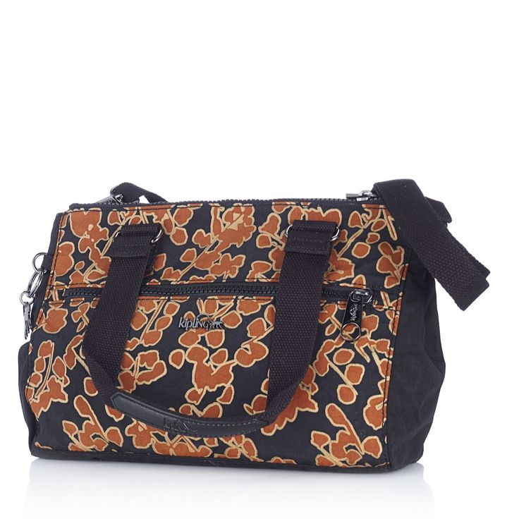 164023 Kipling Tarah Premium Large Shoulder Bag with Detachable Strap - QVC Price: £83.00  Event Price:  £68.98  P&P: £5.95  or 2 Easy Pays of £34.49  +P&P in 2 colour options The Tarah Kipling bag features two top handles, a removable, adjustable cross-body strap and has three full-size compartments inside. With a wealth of additional pockets and slots this roomy bag will keep your daily essentials and more with you in style.