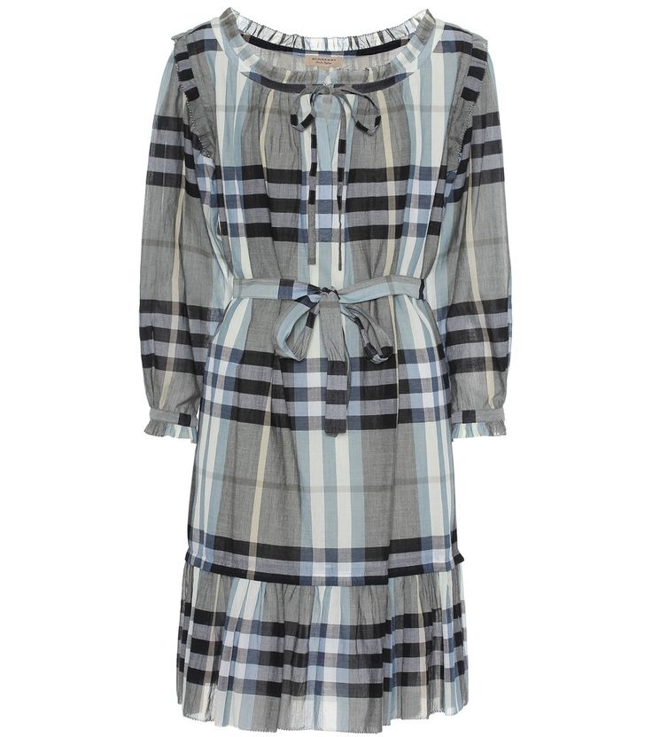 Burberry - Kleid Chareen aus Baumwolle -  seen @ www.mytheresa.com