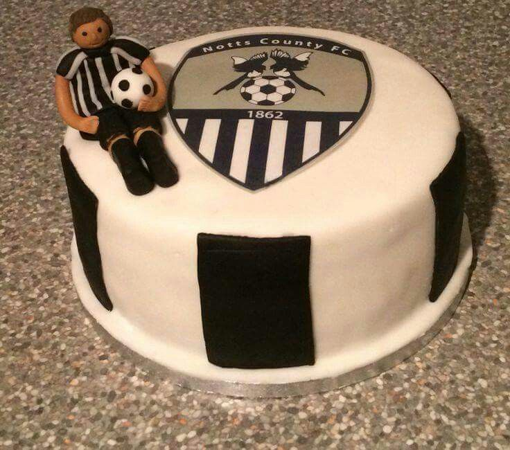 168 best Notts County images on Pinterest Anniversary cakes