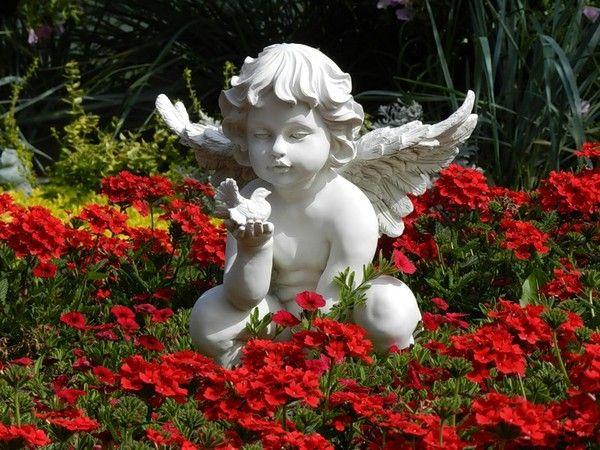 fleurs et ange garden angels garden