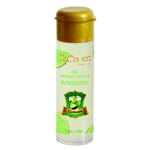 Com fórmula aromatizada, o gel refresca em contato com a pele e pode ser utilizado em todo o corpo. Assopre para aumentar o frescor.