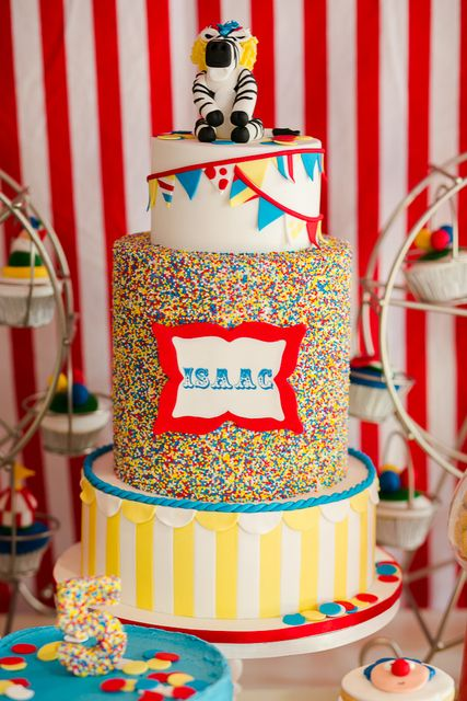 """Photo 8 of 37: Circus/Carnival / Birthday """"Roll Up Roll Up Circus Carnival Party"""" 