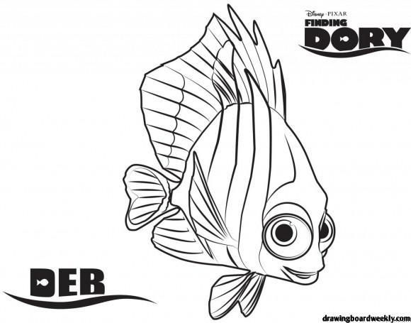 Finding Dory Coloring Pages Nemo Coloring Pages Finding Nemo Coloring Pages Coloring Pages Inspirational