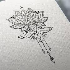 Ms de 25 ideas increbles sobre Tatuajes de flor de loto en