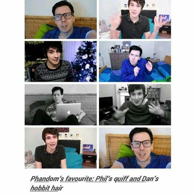 Phils quiff and dans hobbit hair