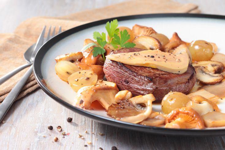 À découvrir la super #recette : Médaillons de #Magret Rossini sur poêlée automnale !  #recette #magret