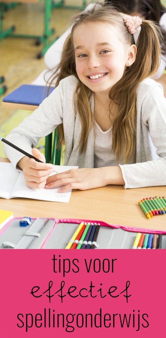 Tips voor effectiever spellingonderwijs