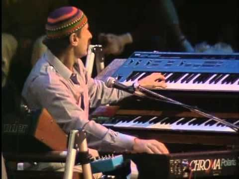 """Joe Zawinul Day! Keyboardist and composer Josef Erich """"Joe"""" Zawinul was born on July 7, 1932 in Vienna, Austria.  Zawinul received classical training at the Conservatory of Vienna before moving to the US upon receiving a scholarship to Berklee School of Music.  The keyboardist, along with tenor saxophonist Wayne Shorter, founded the enormously influential jazz fusion group Weather Report in 1970. Joe Zawinul is featured during a concert performance with his short lived band """"Weather"""