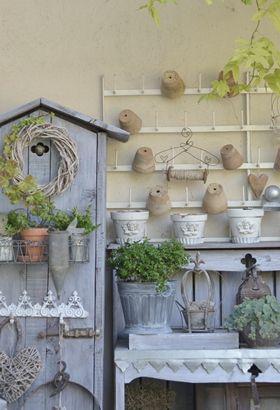 idées de rangement - cabanon de jardinage