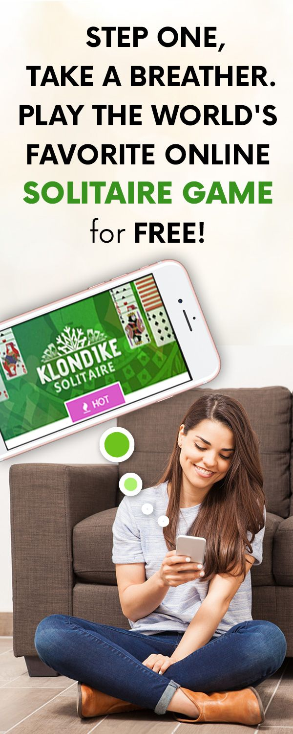Step 1, take a Breather.  Play the World's Favorite Online Solitaire Game for Free!