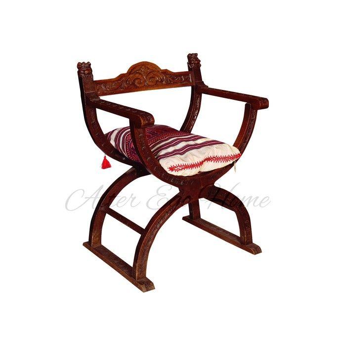Курульное кресло из Голландии начала XX века