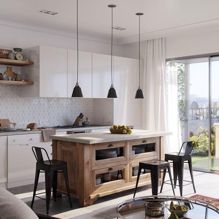 best 25+ small open plan kitchens ideas on pinterest | kitchen