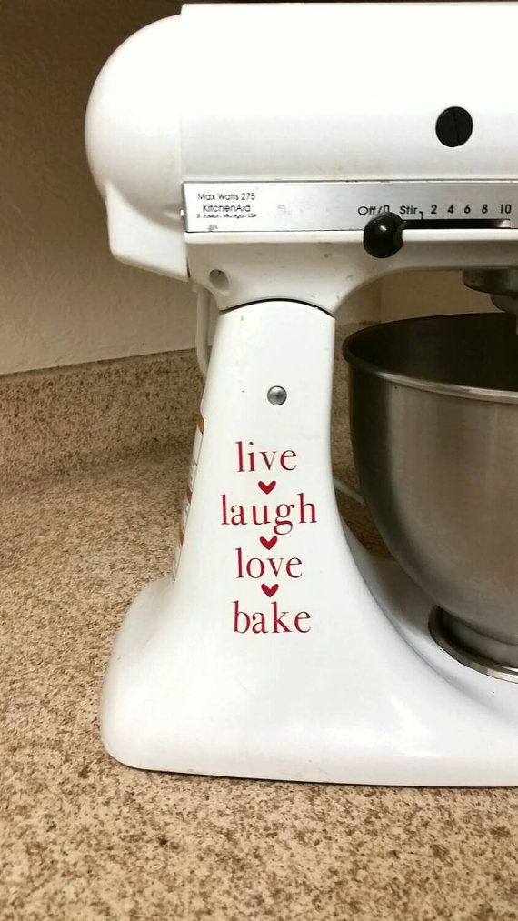 Kitchen Aid Bake Stickers