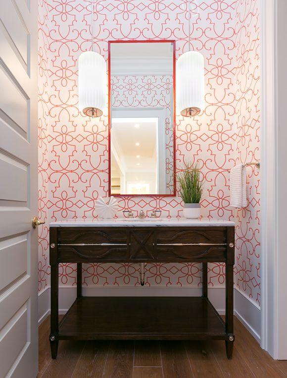 146 Best Powder Rooms Images On Pinterest Bathroom Ideas