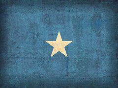 Somalia Flag Art - Somalia Flag Vintage Distressed Finish by Design Turnpike