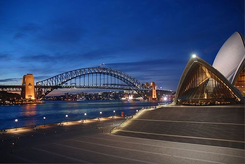 Sydney - Opera House & Harbor Bridge