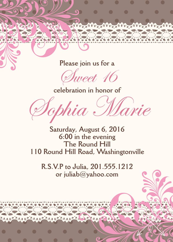 15 best DIY Party Invitations images on Pinterest   Birthday parties ...