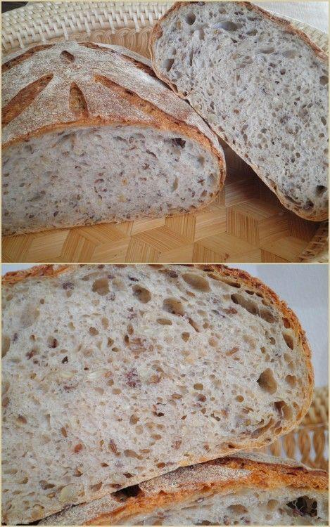 Как вы уже поняли,зерновые хлеба у меня в любимчиках :) Наивкуснейший хлеб,как впрочем все хлеба от этого знаменитого пекаря! Буду немногословна сегодня -…