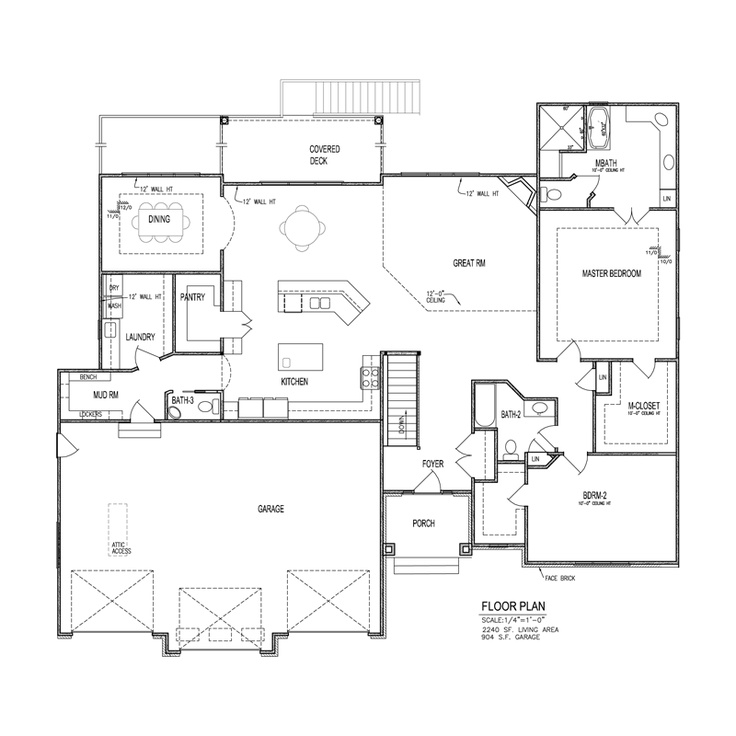Nathan homes omaha tuscan 2 floor plan main floor for Tucson house plans