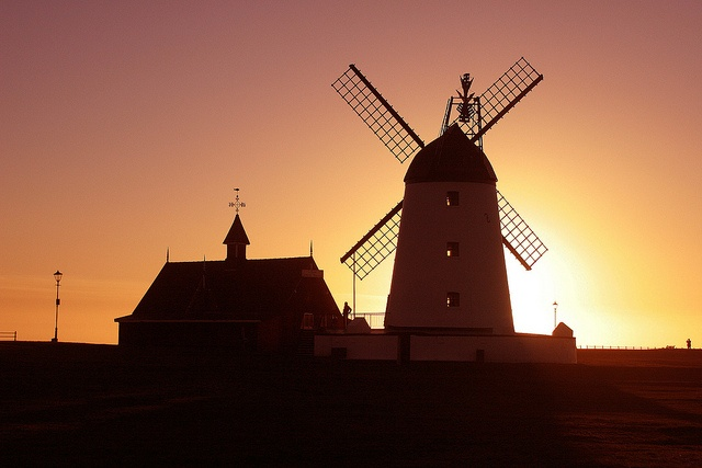 Lytham Windmill, Lytham St/ Annes, England.