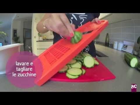 Come preparare le Zucchine sott'olio - miniTutorial - YouTube