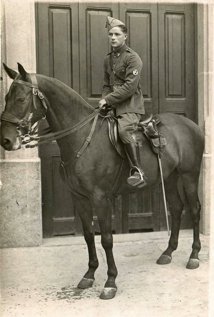 Young cavalry soldier, WWI
