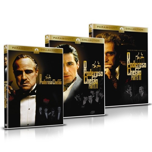 O poderoso chefão. Alusão à mafia italiana nos Estados Unidos. Um clássico. Muito Bom filme! ;D