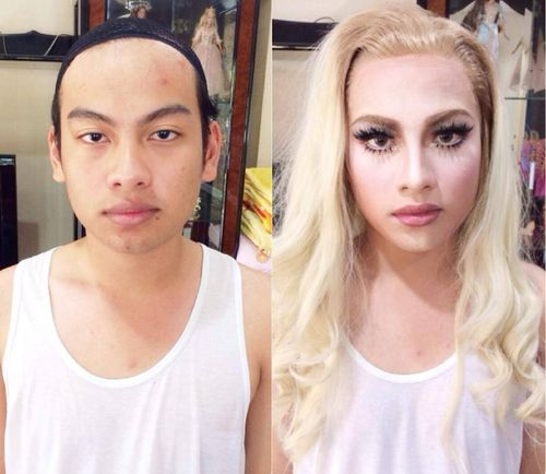 Shocking Male To Female Transformations Httptgcaptionsorgunbelievable-Male-To -6199