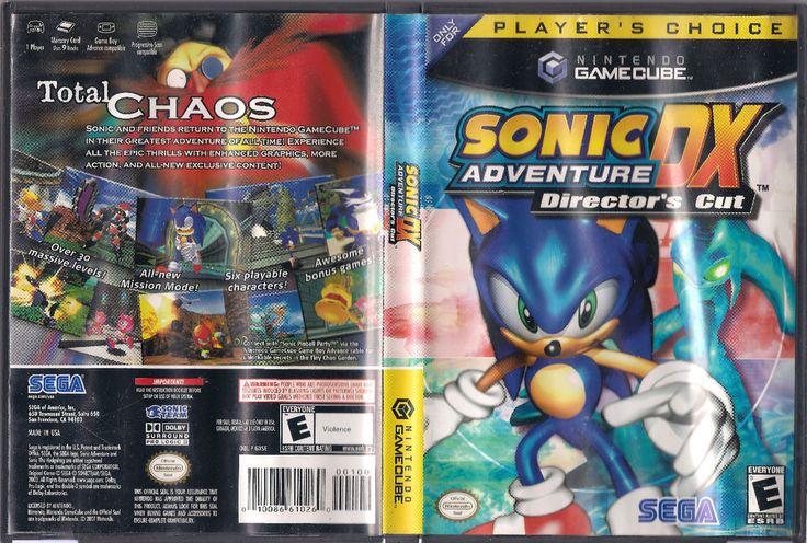 Rare Original SONIC ADVENTURE DX GAMECUBE game (NTSC 2003)