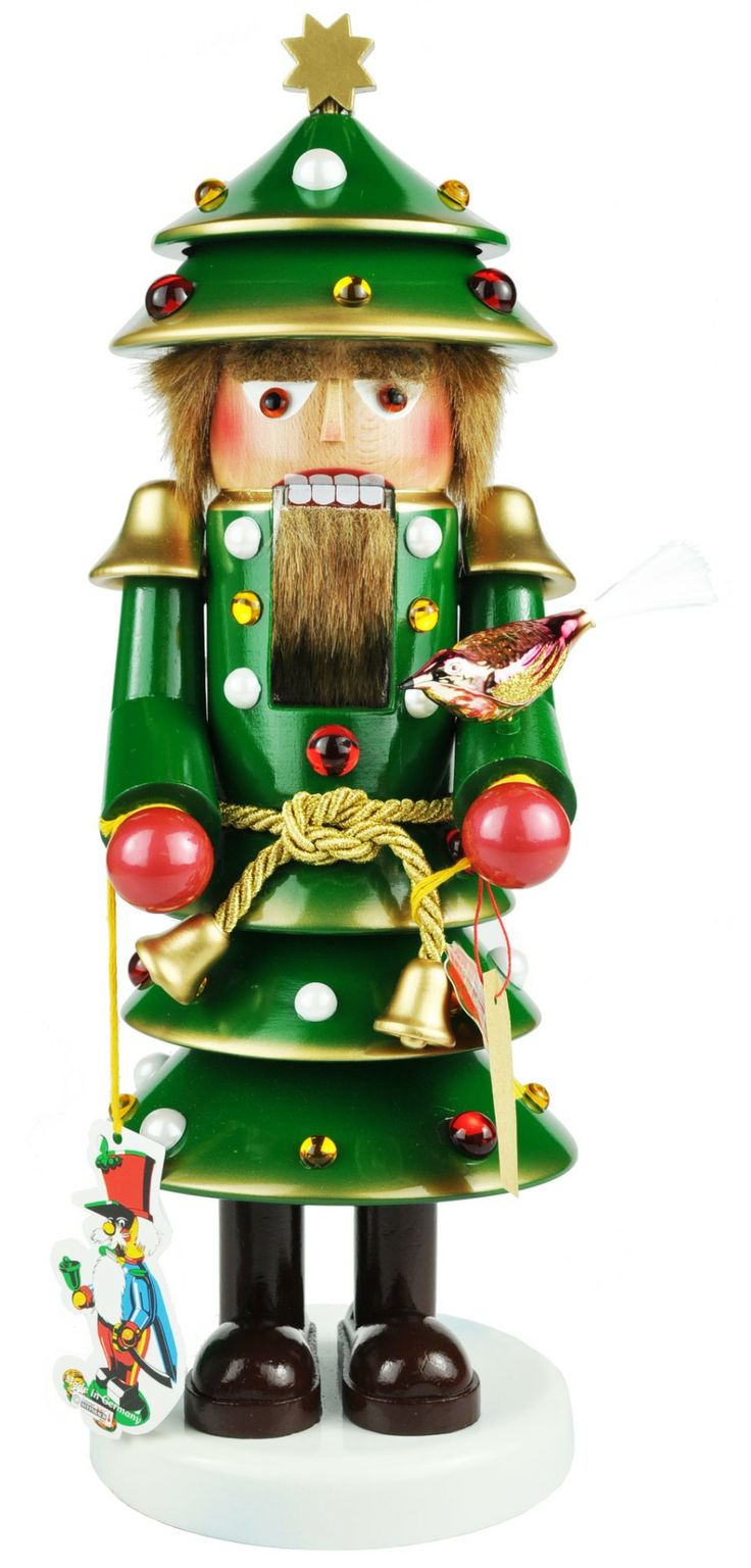 How to make a nutcracker christmas decoration - Steinbach Christmas Tree Man Nutcracker Steinbachnutcrackers Com