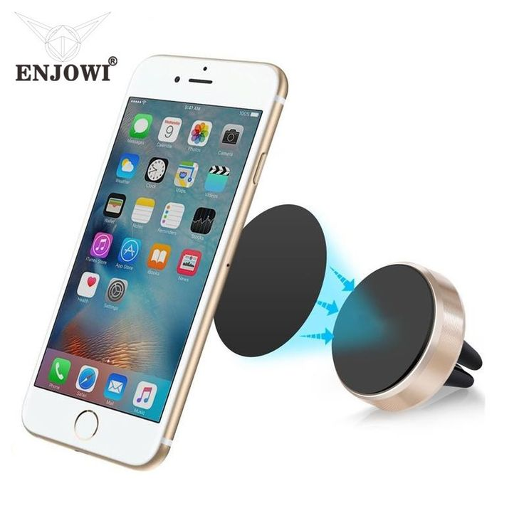 Compatible Brand: Universal Charger: No Material: Metal Car Holder: Yes Bicycle Holder: No Has Speaker: No Item: Air Vent Mount Magnet Stand Color: Gold Package: 1*phone holder,1*metal plate Weight: 0