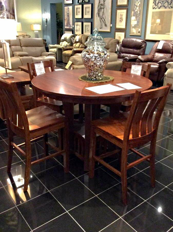 Come See Us At Gallery Furniture TODAY To Shop This Charming Bar Table And  Chair Set