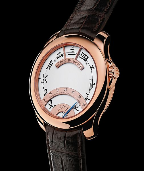 Ludovic Ballouard Half Time 18K Red Gold Hand Wound Available at Cellini Jewelers