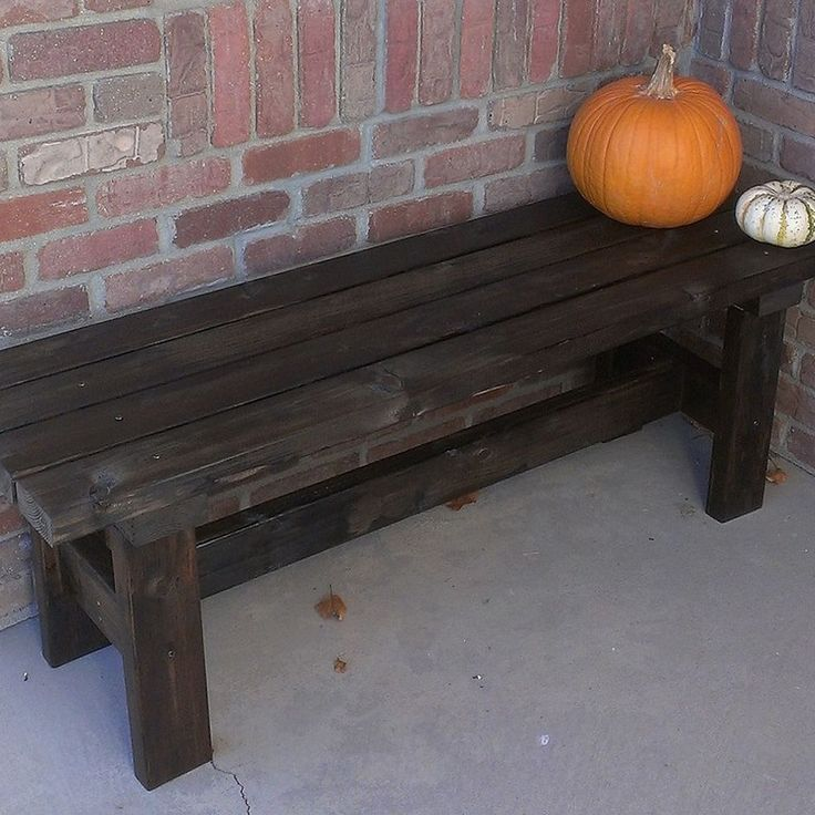 Build a bench for $15...This is a fairly simple plan for building this bench.I love it and would like to have several in my yard!