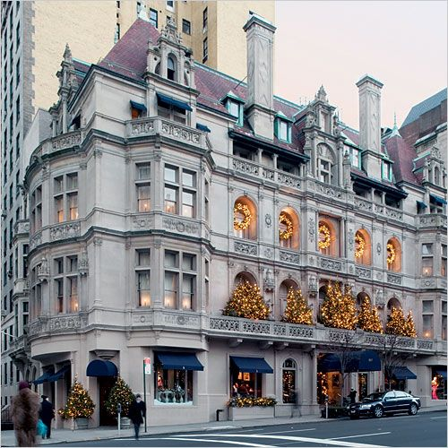 Ralph Lauren at Madison Avenue at 72nd St. in NYC is housed in the Rhinelander…