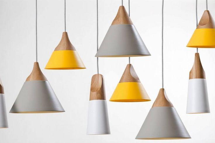 Milan-based design studio Skrivo have created the Slope Pendant Lights for manufacturer Miniforms.