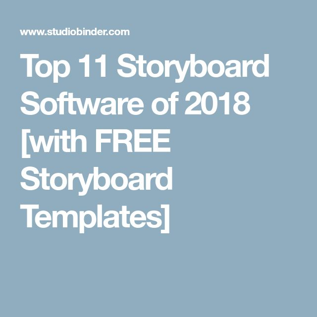 Best  Free Storyboard Software Ideas On   Mcp Site
