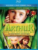 Arthur and the Invisibles 2 & 3: The New Minimoy Adventures [2 Discs] [Blu-ray/DVD], 2279906