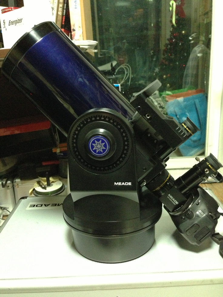 Meade ETX-125PE ETX Back cell Meade Focal reducer Meade off axis guider Canon EOS 600D