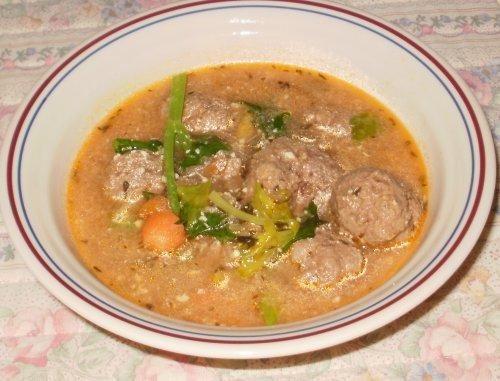 Littlemafia's Romanian Meatballs Soup
