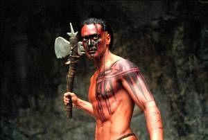 Mark Dacascos as Mani in Brotherhood of the Wolf