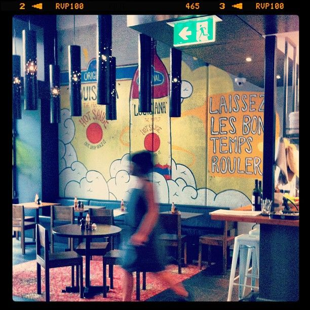 My Mexican Cousin restaurant, Melbourne Recital Centre (photo by Emma)