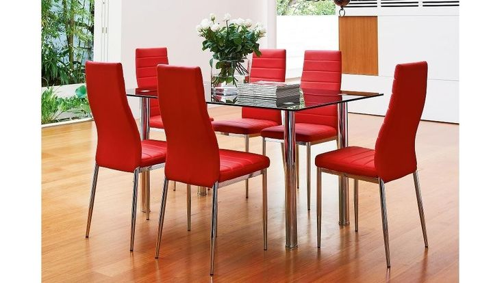 Milano 7 Piece Dining Setting