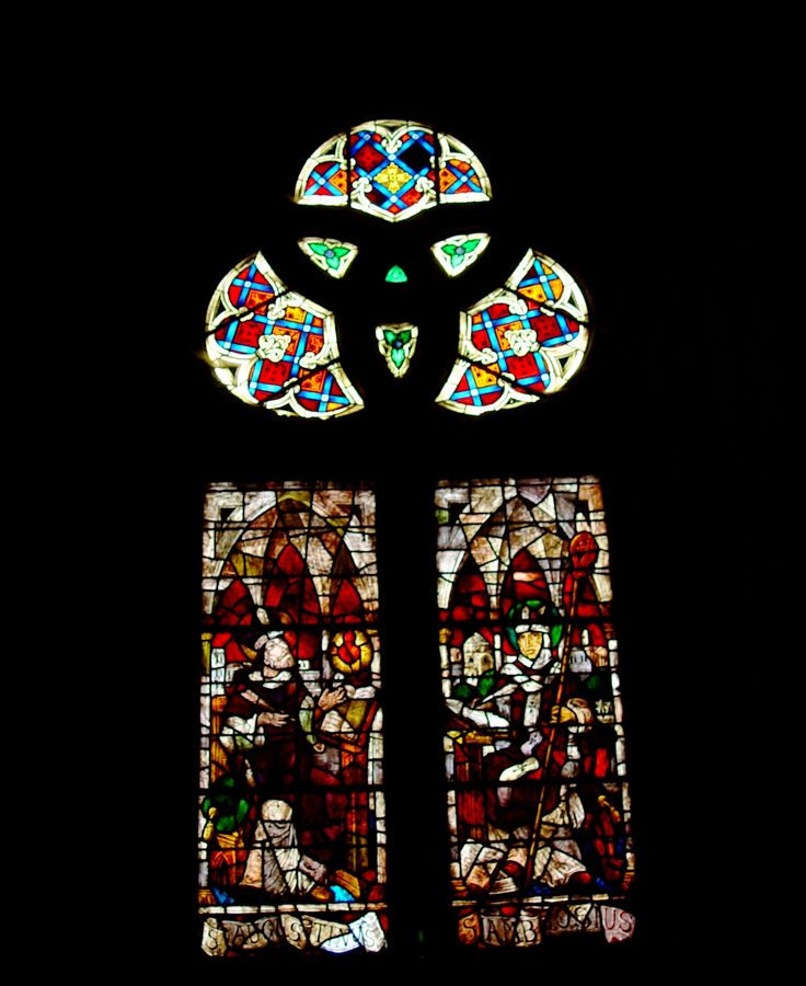 Manizales. Vitral de la catedral.