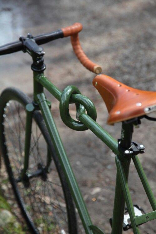 Knot a bike.